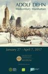 Adolf Dehn Exhibition Poster by Fairfield University Art Museum