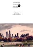Adolf Dehn Fall in Central Park Notecard by Fairfield University Art Museum