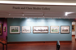 Adolf Dehn Exhibition Title Wall by Fairfield University Art Museum