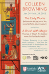 Colleen Browning: The Early Works & A Brush With Magic Exhibition Poster by Bellarmine Museum of Art