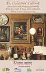 The Collectors' Cabinet: Renaissance and Baroque Masterworks from the Arnold & Seena Davis Collection - Stuffer