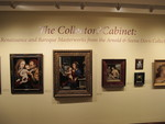 The Collectors' Cabinet: Renaissance and Baroque Masterworks from the Arnold & Seena Davis Collection - Installation shot