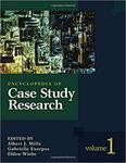 Encyclopedia of Case Study Research by A. Mills, G. Durepos, E. Wiebe, and Michael P. Pagano