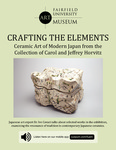 Crafting the Elements Cuseum Panel by Fairfield University Art Museum