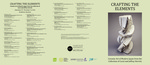 Crafting the Elements Brochure by Fairfield University Art Museum and Tomoko Nagakura