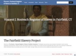 The Vincent J. Rosivach Register of Slaves in Fairfield, Connecticut