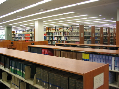 DiMenna-Nyselius Library, Main Floor, Reference Collection