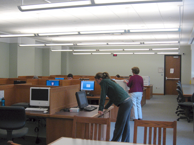 DiMenna-Nyselius Library, Main Floor, 24-Hour Computer Lab