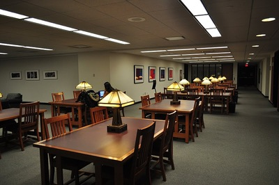 DiMenna-Nyselius Library, Lower Level, Study Area