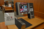 DiMenna-Nyselius Library, Main Floor, Self Checkout