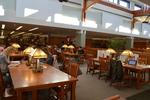DiMenna-Nyselius Library, Upper Level, Corrigan Reading Room
