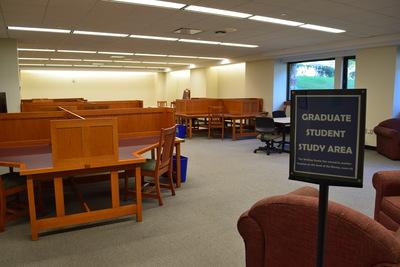 DiMenna-Nyselius Library, Lower Level, Graduate Student Study Area