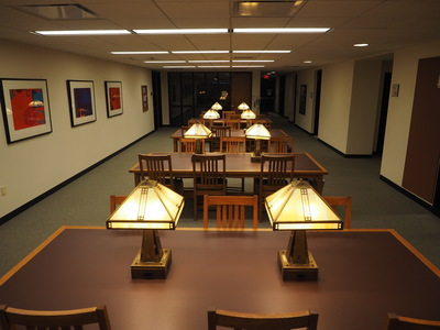 DiMenna-Nyselius Library, Lower Level, Study Space