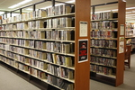 DiMenna-Nyselius Library, Upper Level, Media Collection