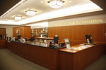 DiMenna-Nyselius Library, Main Level, Library Services & Information Desk