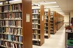 DiMenna-Nyselius Library, Lower Level, Stacks