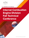Proceedings of the ASME 2014 Internal Combustion Engine Division Fall Technical Conference. Volume 1: Large Bore Engines; Fuels; Advanced Combustion; Emissions Control Systems