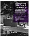 Proceedings of the 2014 Zone 1 Conference of the American Society for Engineering Education