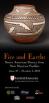 Fire and Earth: Native American Pottery from New Mexican Pueblos - Banner by Carey M. Weber
