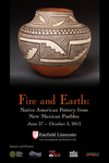 Fire and Earth: Native American Pottery from New Mexican Pueblos - Poster