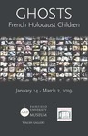 Ghosts: French Holocaust Children Poster by Fairfield University Art Museum