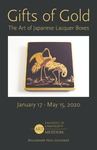 Gifts of Gold: Japanese Lacquer Brochure by Fairfield University Art Museum