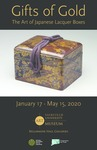 Gifts of Gold: The Art of Japanese Lacquer Boxes Poster