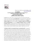 Guerrilla Girls Press Release