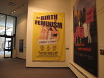 Guerrilla Girls Birth of Feminism banner