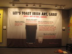 Guerrilla Girls Let's Toast Irish Art, Lads! banner