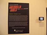 Title Wall Guerrilla Girls