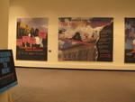 Guerrilla Girls Benvenuti alla Biennale and Time for Gender Reassignment banners
