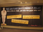 Guerrilla Girls The Anatomically Correct Oscar banner