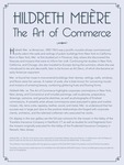 Hildreth Meière: The Art of Commerce Intro Panel