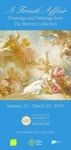 A French Affair: Drawings and Paintings from The Horvitz Collection Front Hall Banner by Fairfield University Art Museum