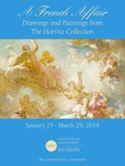 A French Affair: Drawings and Paintings from The Horvitz Collection Poster by Fairfield University Art Museum