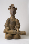 Sichuan Qin Player by Bellarmine Museum of Art