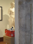 Installation of Permanent Collection by Bellarmine Museum of Art