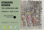Edward Koren: The Capricious Line Advertisement by Bellarmine Museum of Art