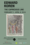 Edward Koren: The Capricious Line Poster by Bellarmine Museum of Art
