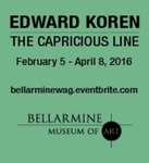 Edward Koren: The Capricious Line Advertisement by Bellarmine Museum of Art