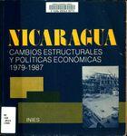 Nicaragua : cambios estructurales y políticas económicas, 1979-1987.