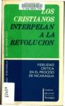 Los Cristianos interpelan a la revolución : fidelidad crítica en el proceso de Nicaragua