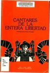 Cantares de la entera libertad : antología para la nueva Nicaragua