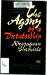 Agoni︠i︡a odnoĭ diktatury. English;