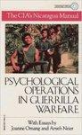 """Operaciones sicológicas en guerra de guerrillas. English;""""Psychological operations in guerrilla warfare"""