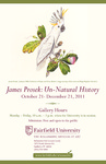 James Prosek: Un-Natural History Poster by Bellarmine Museum of Art
