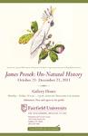 James Prosek: Un-Natural History Poster