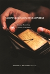 Scripture:Canon::Text:Context—Essays Honoring Lewis Lancaster