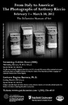 Anthony Riccio Events Program Stuffer by Bellarmine Museum of Art